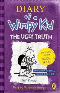 Diary of a wimpy kid: the ugly truth book & cd