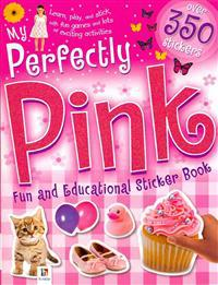 My Perfectly Pink Fun and Educational Sticker Book
