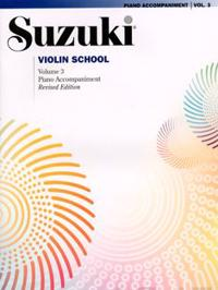 Suzuki Violin School, Vol 3: Piano Acc.