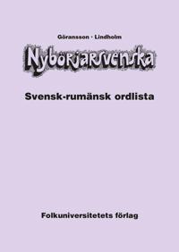 Nybörjarsvenska svensk-rumänsk ordlista