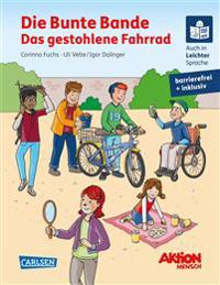 Die Bunte Bande - Das gestohlene Fahrrad. Ein inklusives Kinderbuch auch in Braille-Schrift und Leichter Sprache