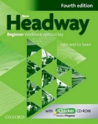 New Headway: Beginner A1: Workbook + iChecker without Key