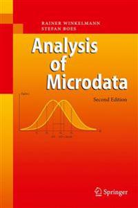 Analysis of Microdata