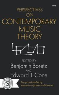 Perspectives on Contemporary Music Theory