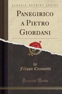 Panegirico a Pietro Giordani (Classic Reprint)