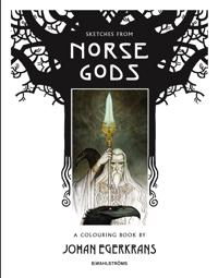 Sketches from Norse Gods - A Colouring Book
