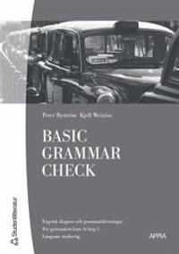 Basic Grammar Check (10-pack) - Engelsk basgrammatik med diagnos och övningar
