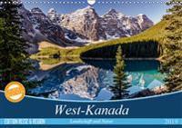 West-Kanada (Wandkalender 2019 DIN A3 quer)