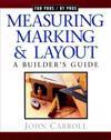 Measuring, Marking & Layout