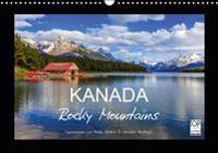 KANADA - Rocky Mountains (Wandkalender 2019 DIN A3 quer)