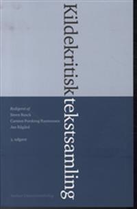 Kildekritisk tekstsamling