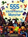 555 klistermärken : Monster