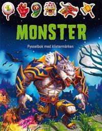 Monster : pysselbok med klistermärken