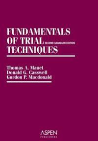 Fundamentals of Trial Techniques