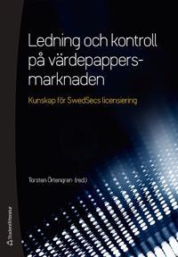 Ledning och kontroll på värdepappersmarknaden - (bok + digital produkt) -  pdf epub