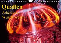 Quallen . Ätherische Wunderwesen (Wandkalender 2019 DIN A4 quer)