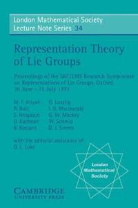Representation Theory of Lie Groups