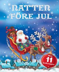 Natten före jul: med 11 roliga ljudknappar!