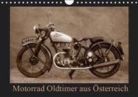 Motorrad Oldtimer aus Österreich (Wandkalender 2019 DIN A4 quer)