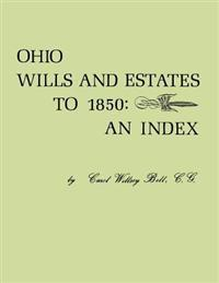 Ohio Wills and Estates to 1850: An Index