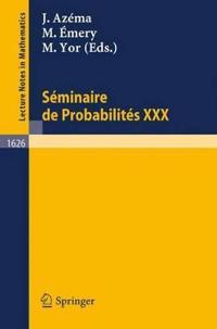 Seminaire De Probabilites Xxx