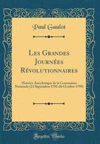 Les Grandes Journées Révolutionnaires