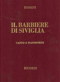 Il Barbiere Di Siviglia: Canto E Pianoforte