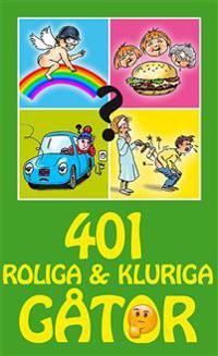 401 roliga & kluriga gåtor -  - böcker (9789177833994)     Bokhandel