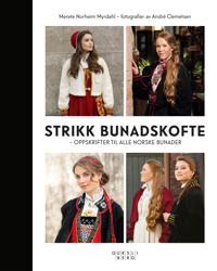 Strikk bunadskofte; oppskrifter til alle norske bunader