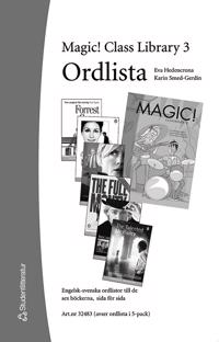 Magic! Class Library. 3, Ordlista (5-pack)