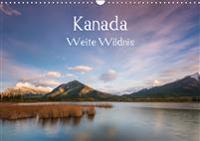 Kanada - Weite WildnisAT-Version  (Wandkalender 2019 DIN A3 quer)