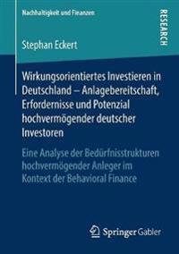 Wirkungsorientiertes Investieren in Deutschland