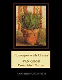 Flowerpot with Chives: Van Gogh Cross Stitch Pattern