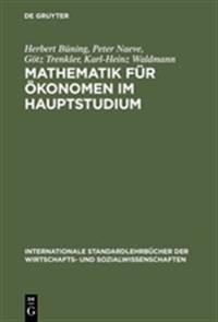 Mathematik f¿r ¿onomen im Hauptstudium