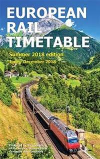 European Rail Timetable Summer 2018