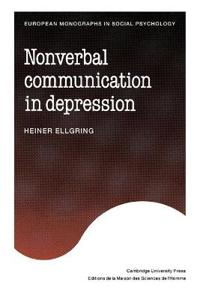 Non-verbal Communication in Depression