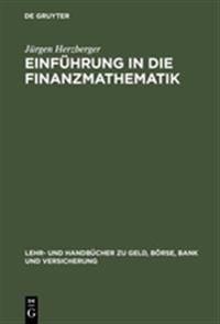 Einf hrung in Die Finanzmathematik
