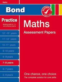 Bond Maths Assessment Papers, 7-8 Years