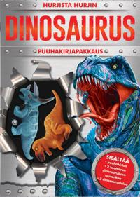 Hurjista hurjin dinosaurus -puuhakirjapakkaus