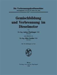 Gemischbildung Und Verbrennung Im Dieselmotor