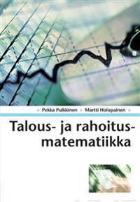 Talous- ja rahoitusmatematiikka