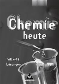 Chemie heute SI. Lösungen Teilband 2. Niedersachsen -  - böcker (9783507860742)     Bokhandel