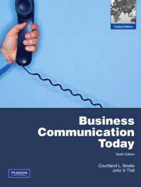 Bovee: Business Communication Today/ MyBCommLab Pack