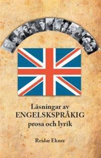 Läsningar av engelskspråkig prosa och lyrik