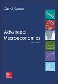 Advanced Macroeconomics
