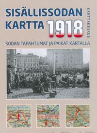 Sisällissodan 1918 kartta, 1:1 000 000