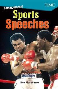 Communicate! Sports Speeches (Level 7)