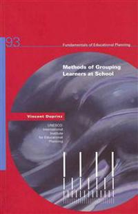 Methods of Grouping Learners at School