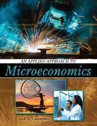 An Applied Approach to Microeconomics