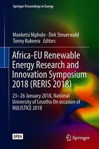 Africa-eu Renewable Energy Research and Innovation Symposium, 2018